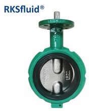 Oil gas butterfly valve