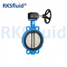 China high quality epdm seat butterfly valve manual butterfly valves factory