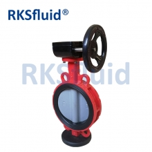 China API/ANSI/DIN/JIS Cast Iron Lug Butterfly Valve with Soft Seat factory